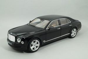 Bentley Mulsanne Negro Escala 1:18 Fabricado Por Rastar