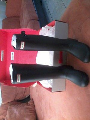 Botas HUNTER largas para lluvia, originales, talla 25 y 26,