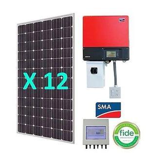 Kit paneles solares de 230 watts para interconexión con la