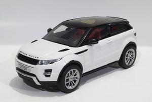 Land Rover Range Rover Evoque Blanca Escala 1:18 Gt-autos