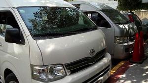 Renta camionetas de pasajeros
