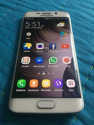 Samsung s6 edge libre para toda compañia 32gb