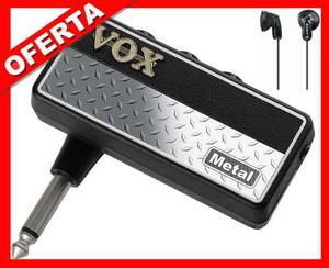 Vox Amplug Mini Amplificador + Audifonos Ap2mt Metal G2