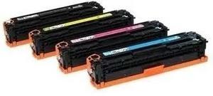 Pack 4 Toner 125a 128a 131a Cf210 Ce320 Cb540 Compatibles