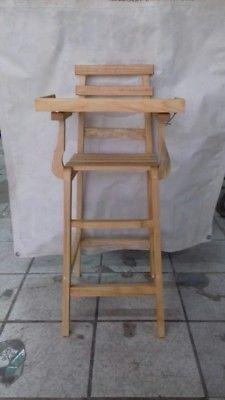 silla periquera de madera