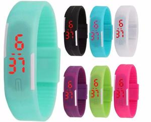 3x2 Reloj Led Touch Digital Unisex Colores Deportivo