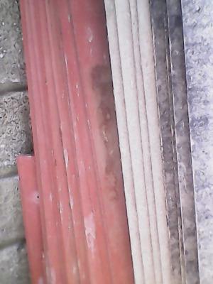40 mts laminas de asbesto