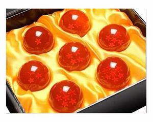 Esferas Del Dragón 7 Piezas Dragon Ball De 4.4 Cm Ø Con