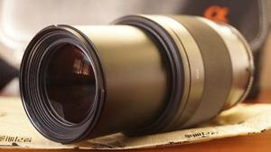 Lente Sony, Dt mm, F4-5.6, Montura A + Estuche Sony