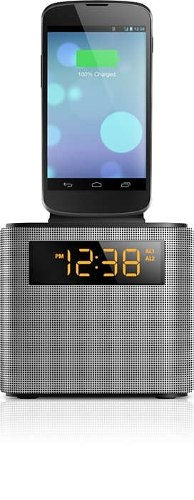 Radio Reloj Despertador Bluetooth, Ipod Dock Para Iphone