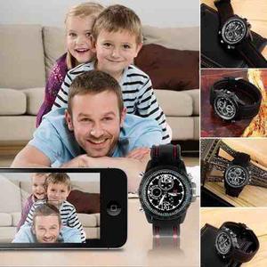Reloj Camara Espia Agua Hd Lente 8gb Pulsera