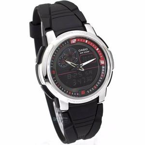 Reloj Casio Aqf102 Caucho - Termómetro - Original Cfmx -