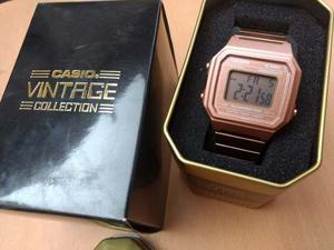 Reloj Casio B650 Rosado Retro Vintage Alarma Luz Cronometro