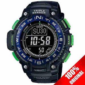 Reloj Casio Sgw Altimetro Termometro Barometro 5 Alarmas