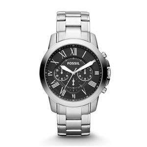 Reloj Fossil Grant Chronograph Acero Fsp Envio Gratis