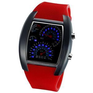 Reloj Led Hombre Silicon Caballero Deportivo Velocimetro