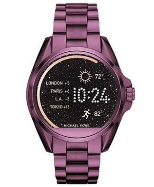 Reloj Michael Kors Smartwatch Morado