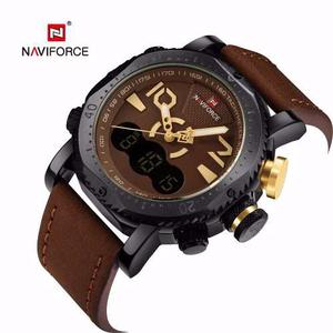 Reloj Naviforce Deportivo Elegante Sumergible Moderno
