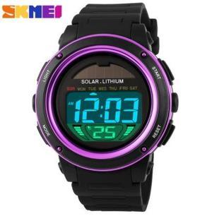 Reloj Solar Sport Digital Cronometro Sumergible Envio Gratis