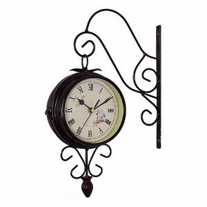 Reloj Vintage De Doble Cara Lujo Envio Gratis Hogar