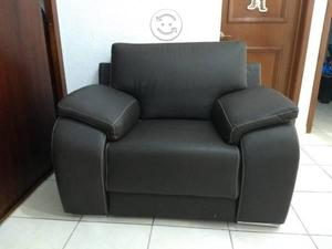 Sillon Tacto Piel, Color chocolate