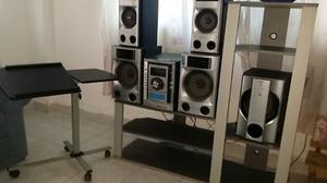 modular sony para 5 cd.