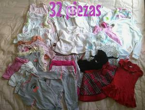 Lote de ropa de bebé de 32 piezas