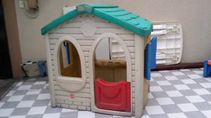 Casita de plastico para niños little tikes step 2 casa de