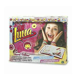 Cojin Con Diario Secreto Soy Luna