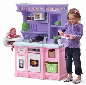 Step2 Little Baker's Kitchen- Cocina Rosa Morado De Lujo