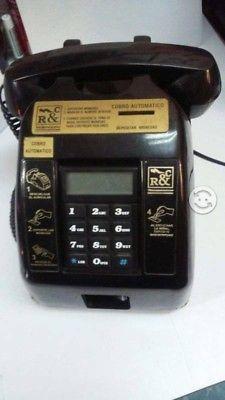 Teléfono de monedas vintage