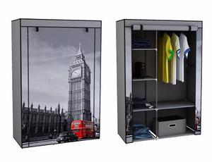 Armario Armable Big Ben Londres Para Ropa Envio Gratis