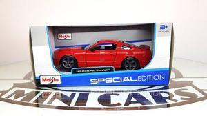 Ford Mustang Gt  Rojo 1/24 Maisto Autos A Escala Metal
