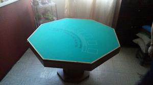 Mesa de Poker hexagonal multijuegos
