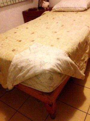 Vendo cama individual, colchón y base