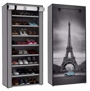 Zapatera 8 Repisas Torre Eiffel Paris Envío Gratis