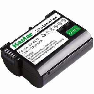 Bateria Para Camara Nikon D D D Kastar En-el15