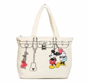 Bolso Tote Minnie & Mickey Mouse Con Licencia Disney