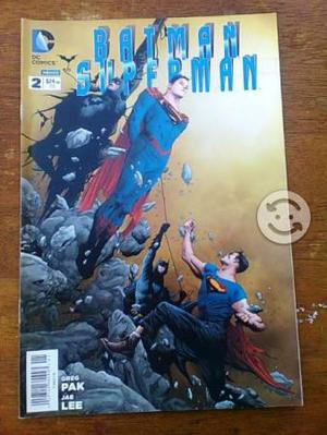 Comic batman & superman #2 de televisa