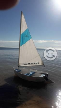 Lancha velero dinghy walker bay de 8 pies
