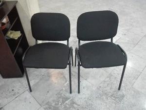 Par de sillas para escritorio