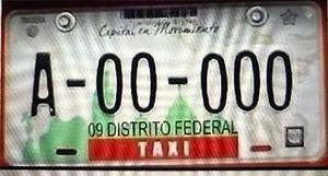 RENTO MIS PLACAS DE TAXI EN $ MENSUALES
