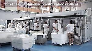 Servicio profesional de lavandería industrial para hoteles,