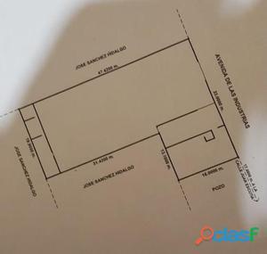 Terreno Venta Ave. de las Industrias 6,000,000 Alelop R84