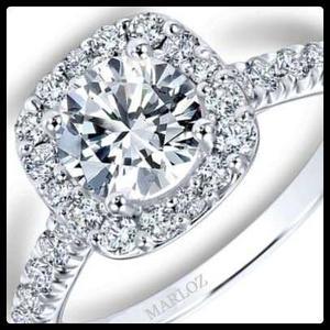 Anillo oro blanco con brillante posot class for Precio rodiar anillo oro blanco