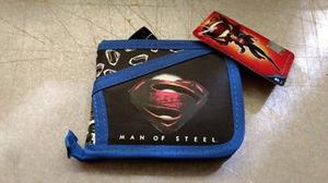 Cartera de superman original y nueva