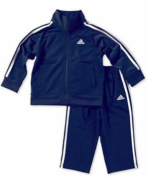 Conjunto Pants adidas Bebé Original Azul Marino Navy