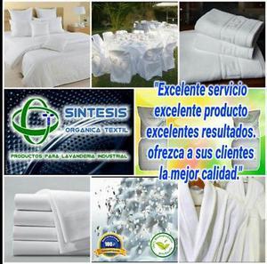 Detergentes especiales para lavanderías industriales