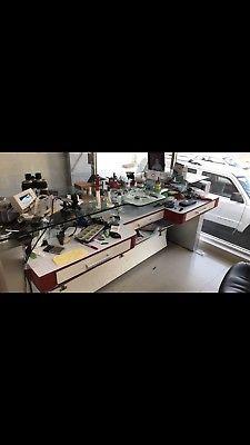 Mesa de trabajo para relojero