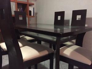 SE REMATA Comedor para 6 personas con doble vista